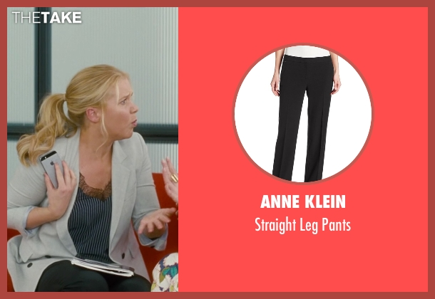Anne Klein black pants from Trainwreck seen with Amy Schumer (Amy)