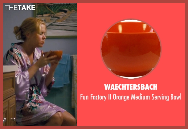 Waechtersbach bowl from Trainwreck seen with Amy Schumer (Amy)