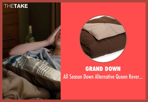 Grand Down comforter from Trainwreck seen with Amy Schumer (Amy)