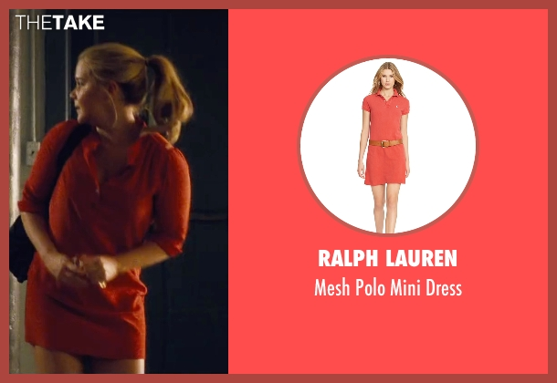 Ralph Lauren red dress from Trainwreck seen with Amy Schumer (Amy)