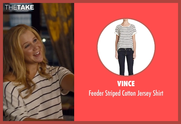 Vince white shirt from Trainwreck seen with Amy Schumer (Amy)