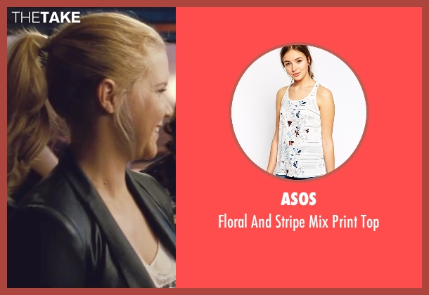 Asos white top from Trainwreck seen with Amy Schumer (Amy)