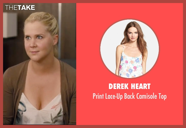 Derek Heart white top from Trainwreck seen with Amy Schumer (Amy)