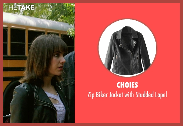 Choies black lapel from Ouija seen with Ana Coto (Sarah Morris)