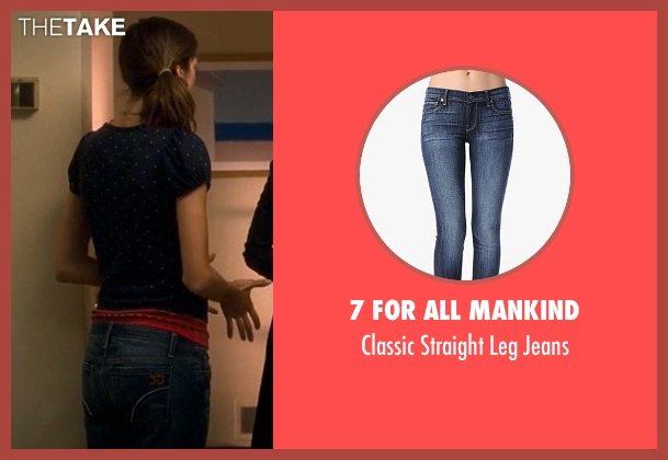 7 For All Mankind blue jeans from Crazy, Stupid, Love. seen with Analeigh Tipton (Jessica)