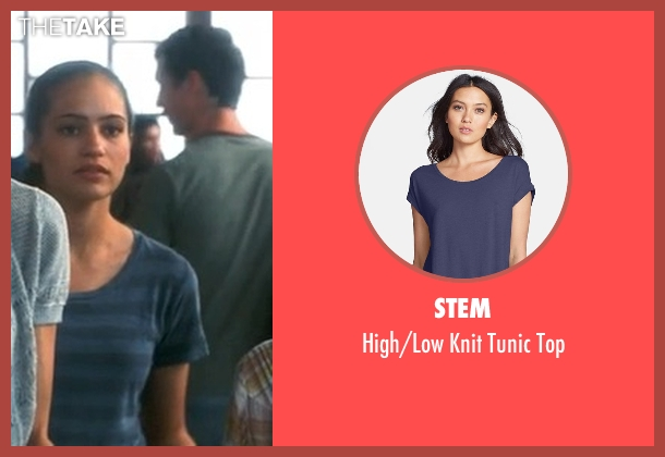 Stem blue top from Crazy, Stupid, Love. seen with Analeigh Tipton (Jessica)