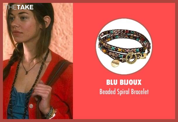 Blu Bijoux brown bracelet from Crazy, Stupid, Love. seen with Analeigh Tipton (Jessica)