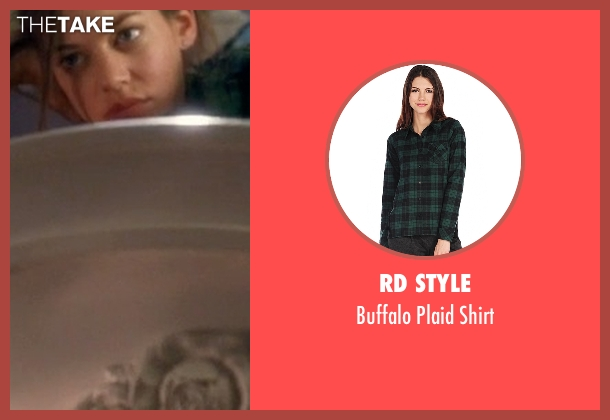 RD Style green shirt from Crazy, Stupid, Love. seen with Analeigh Tipton (Jessica)