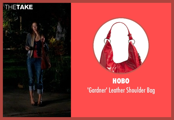 Hobo red bag from Crazy, Stupid, Love. seen with Analeigh Tipton (Jessica)