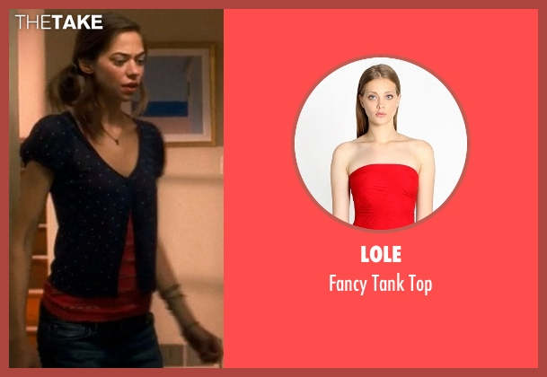 Lole red top from Crazy, Stupid, Love. seen with Analeigh Tipton (Jessica)