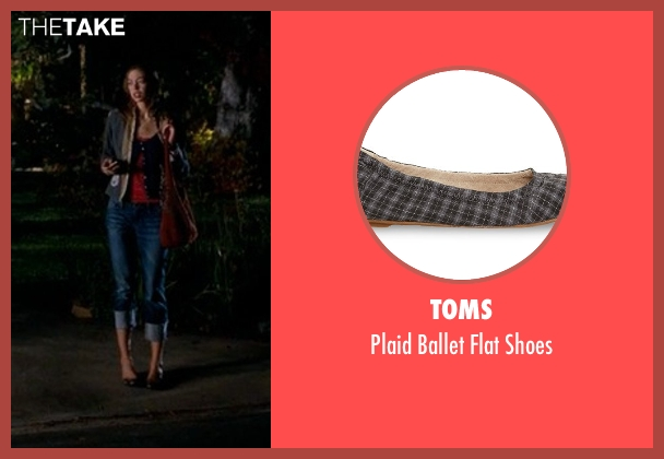 Toms shoes from Crazy, Stupid, Love. seen with Analeigh Tipton (Jessica)
