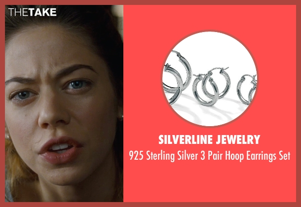 Silverline Jewelry silver set from Warm Bodies seen with Analeigh Tipton (Nora)