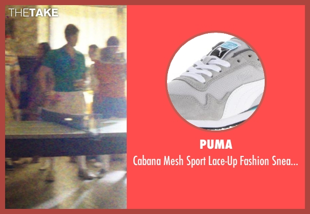 Puma gray sneaker from Neighbors seen with Anders Holm (Beer Pong Guy #3)