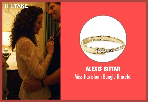 Alexis Bittar gold bracelet from Magic Mike XXL seen with Andie MacDowell (Unknown Character)
