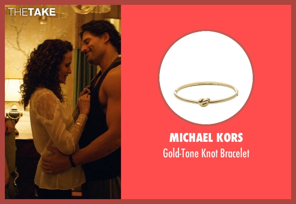 Michael Kors gold bracelet from Magic Mike XXL seen with Andie MacDowell (Unknown Character)