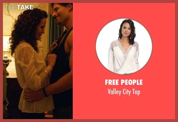 Free People white top from Magic Mike XXL seen with Andie MacDowell (Unknown Character)