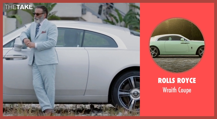 Rolls Royce coupe from Ballers seen with Andre Allen (Andy Garcia)