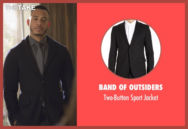 Band of Outsiders black jacket from Empire seen with Andre Lyon (Trai Byers)