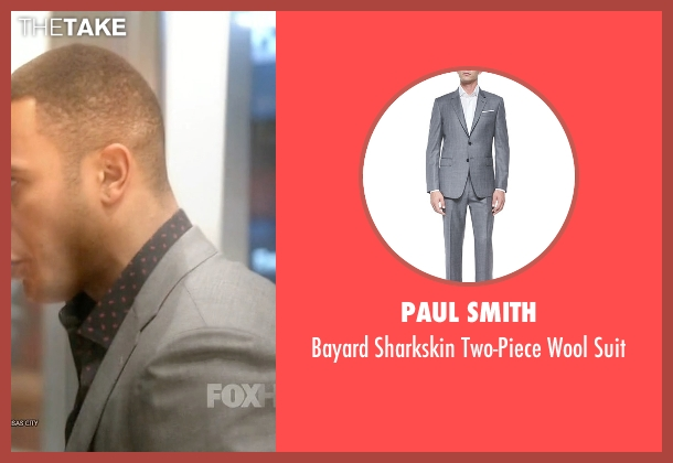 Paul Smith	 gray suit from Empire seen with Andre Lyon (Trai Byers)