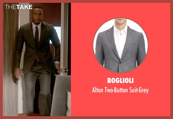 Boglioli gray suit-grey from Empire seen with Andre Lyon (Trai Byers)