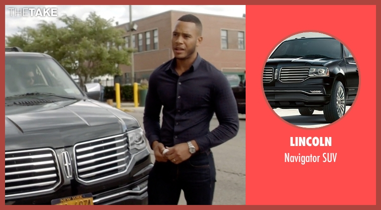Lincoln suv from Empire seen with Andre Lyon (Trai Byers)