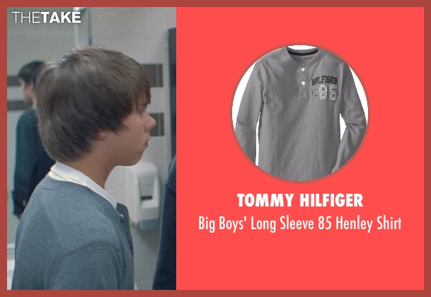 Tommy Hilfiger gray shirt from Boyhood seen with Andrew Bunten (Bully 1)