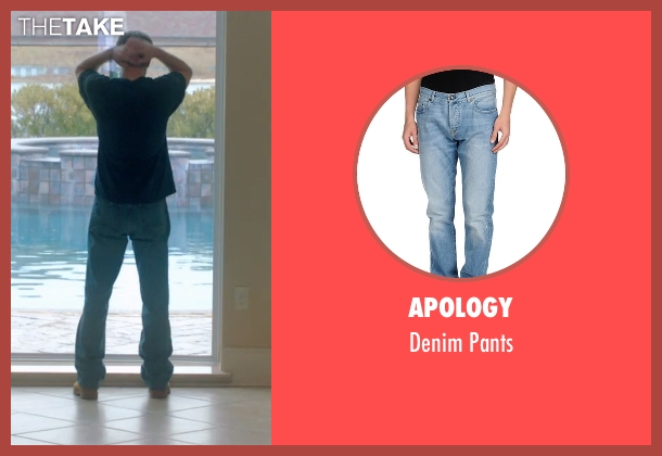 Apology blue pants from 99 Homes seen with Andrew Garfield (Dennis Nash)