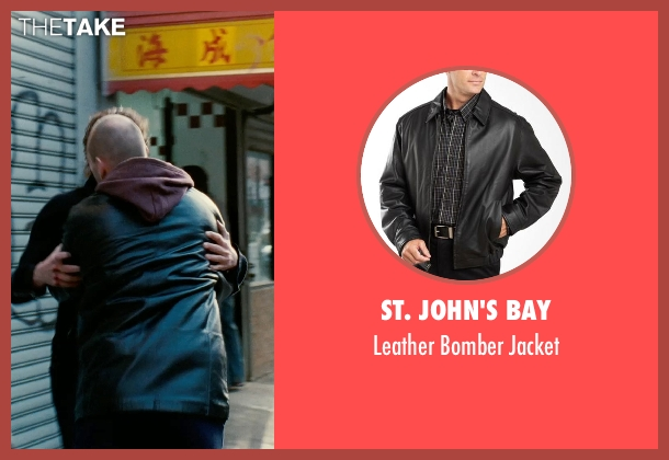 St. John's Bay black jacket from Limitless seen with Andrew Howard (Gennady)