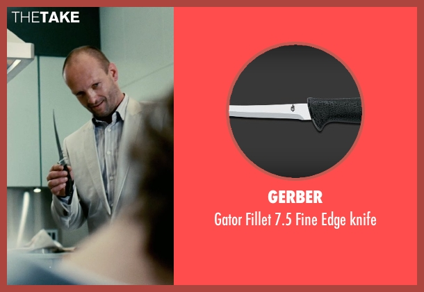 Gerber knife from Limitless seen with Andrew Howard (Gennady)