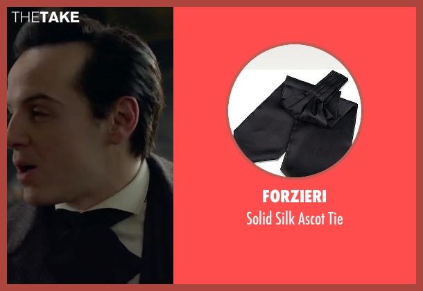 Forzieri black tie from Victor Frankenstein seen with Andrew Scott (Roderick Turpin)