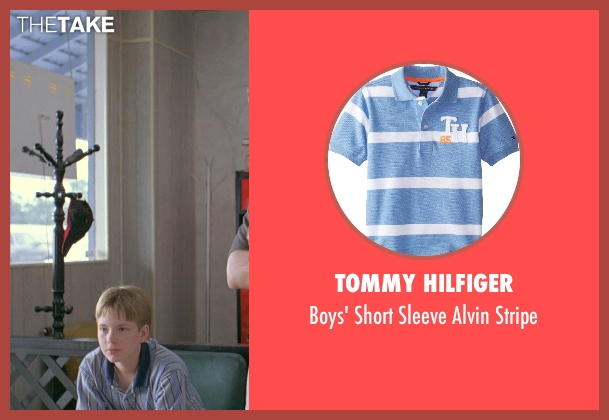 Tommy Hilfiger blue stripe from Boyhood seen with Andrew Villarreal (Randy)