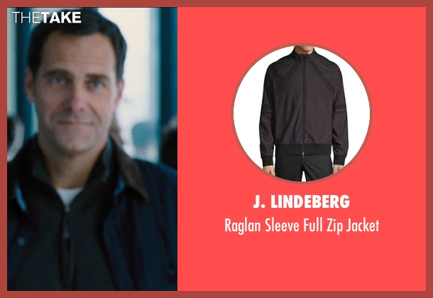 Arc'teryx black jacket from Jurassic World seen with Andy Buckley (Unknown Character)