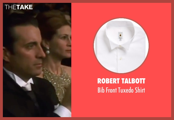 Robert Talbott white shirt from Ocean's Eleven seen with Andy Garcia (Terry Benedict)