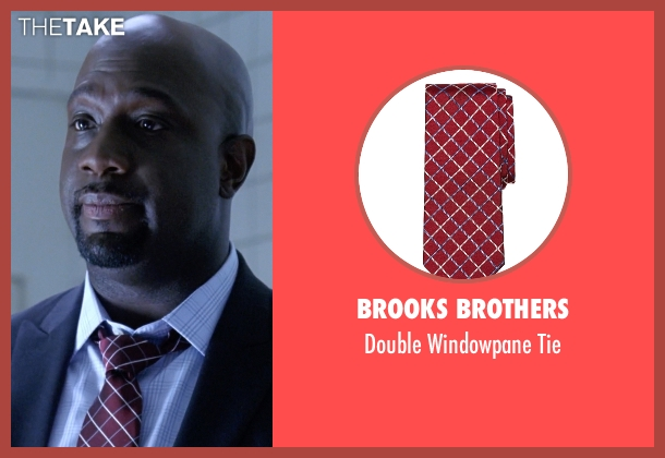 Brooks Brothers red tie from American Horror Story seen with Andy Hahn (Richard T. Jones)