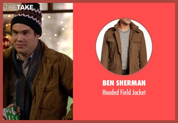 Ben Sherman brown jacket from Modern Family seen with Andy (Adam DeVine)