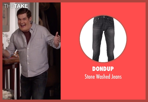 Dondup gray jeans from Modern Family seen with Andy (Adam DeVine)