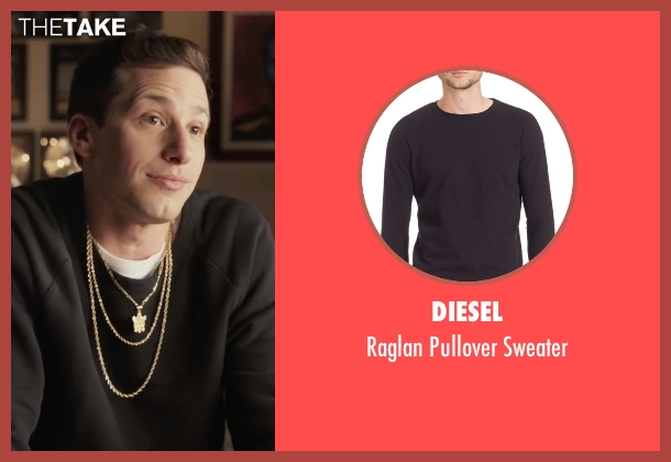 Diesel  black sweater from Popstar: Never Stop Never Stopping seen with Andy Samberg (Conner4Real)