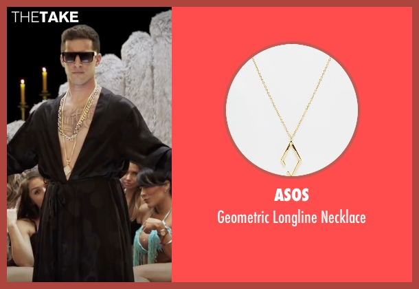 ASOS gold necklace from Popstar: Never Stop Never Stopping seen with Andy Samberg (Conner4Real)