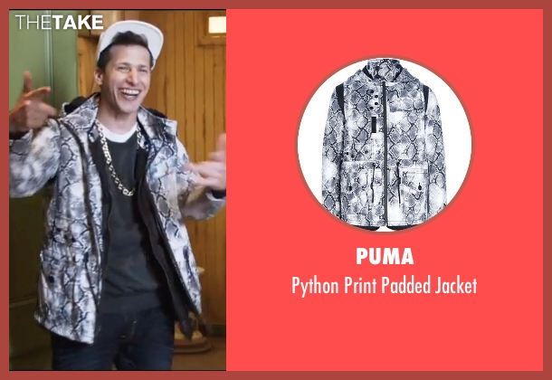 Puma gray jacket from Popstar: Never Stop Never Stopping seen with Andy Samberg (Conner4Real)