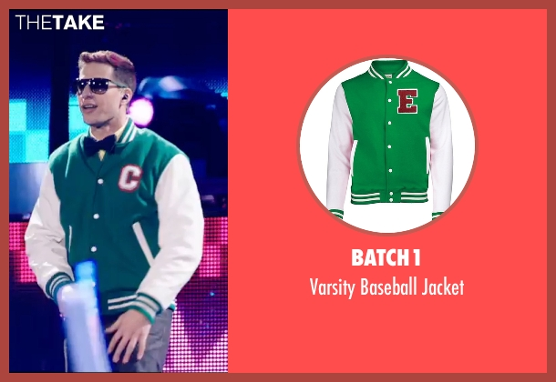 Batch1 green jacket from Popstar: Never Stop Never Stopping seen with Andy Samberg (Conner4Real)