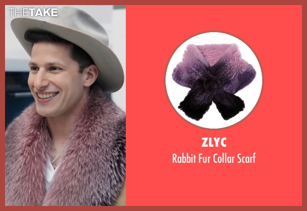 ZLYC purple scarf from Popstar: Never Stop Never Stopping seen with Andy Samberg (Conner4Real)
