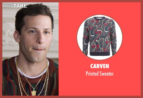 Carven sweater from Popstar: Never Stop Never Stopping seen with Andy Samberg (Conner4Real)