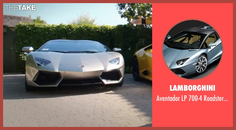 Lamborghini car from Popstar: Never Stop Never Stopping seen with Andy Samberg (Conner4Real)