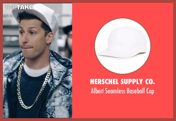 Herschel Supply Co. white cap from Popstar: Never Stop Never Stopping seen with Andy Samberg (Conner4Real)