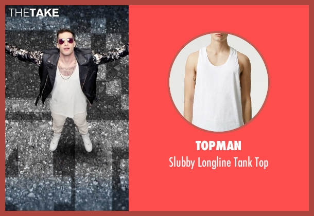 Topman white top from Popstar: Never Stop Never Stopping seen with Andy Samberg (Conner4Real)