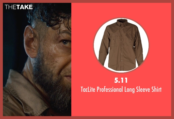 5.11 brown shirt from Avengers: Age of Ultron seen with Andy Serkis (Unknown Character)