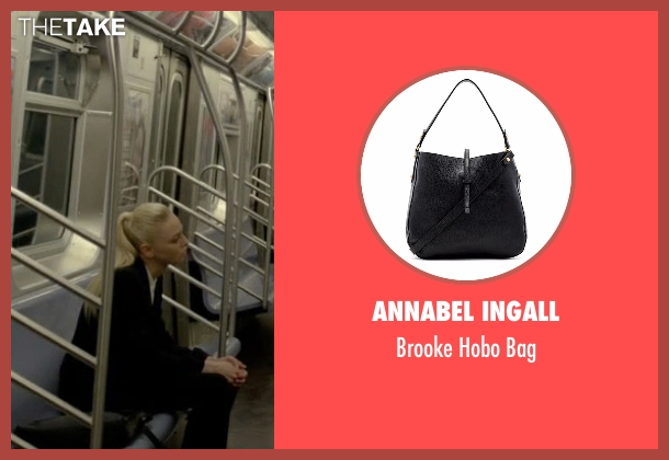 Annabel Ingall black bag from Mr. Robot seen with Angela Moss (Portia Doubleday)