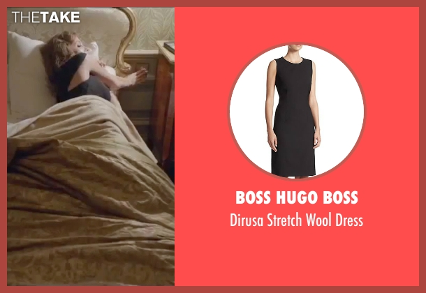 Boss Hugo Boss black dress from By the Sea seen with Angelina Jolie (Vanessa)
