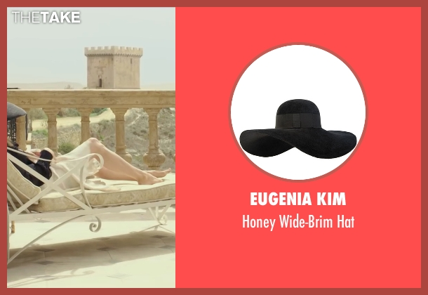 Eugenia Kim black hat from By the Sea seen with Angelina Jolie (Vanessa)
