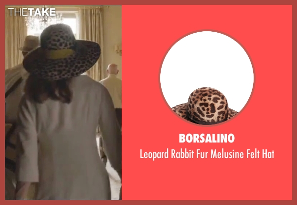 Borsalino brown hat from By the Sea seen with Angelina Jolie (Vanessa)